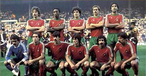 Portugal Europees 4de in 1984.