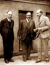 Niels Henrik David Bohr, James Franck en George de Hevesy