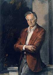 Polanyi's portret in olieverf